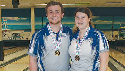 Apopka High School darters bowling finals
