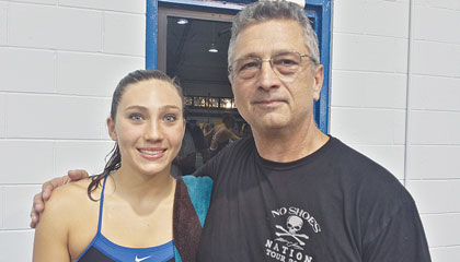 Apopka High School swim - Emma Treadwell