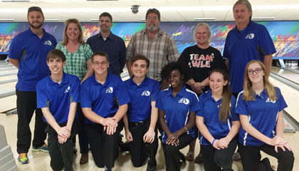Apopka High School bowling seniors