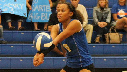 Alexis Gosha - Darters vs. West Orange girls volleyball