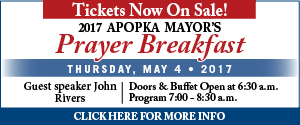 Apopka Mayor's Prayer Breakfast 2017