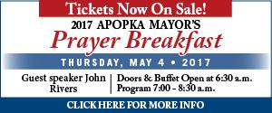 Apopka Mayor's Prayer Breakfast 2017