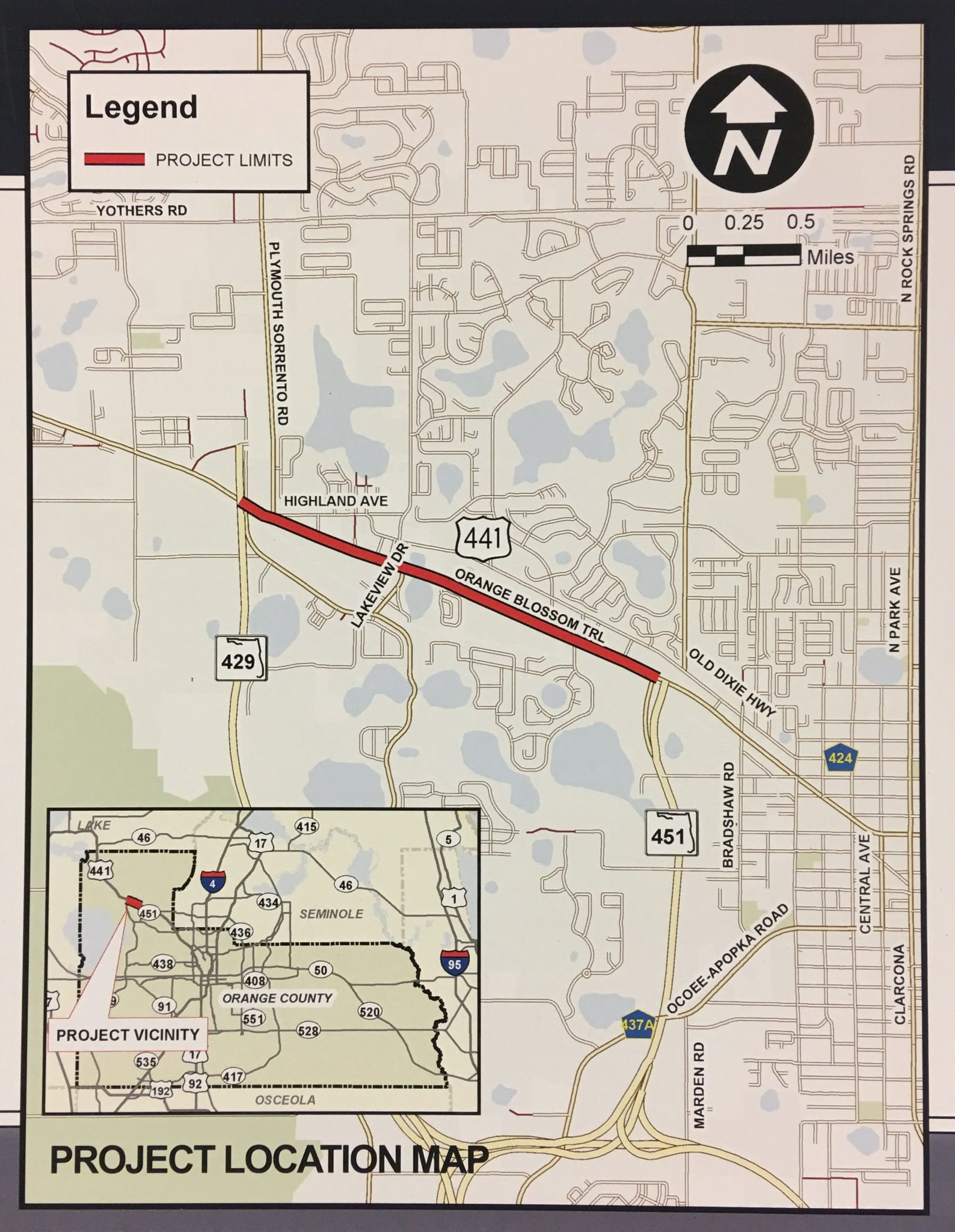 State holds public hearing about US 441 road improvements in Apopka