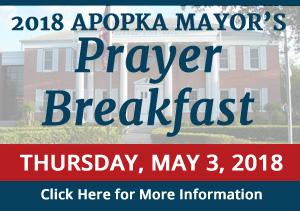 Mayor's Prayer Breakfast Press Release
