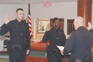 New Apopka Police Officers David Pitman and Quinton Nedd