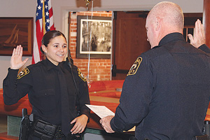Apopka Police Officer, Cindy Calixto