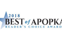 2018 Best of Apopka Logo