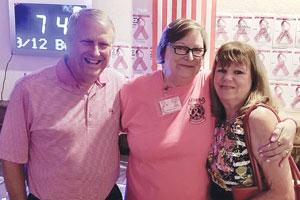 Breast Fest Apopka, Mayor Bryan Nelson, Debbie Turner, Debbie Nelson