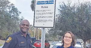 Apopka Police Department Exchange Zone