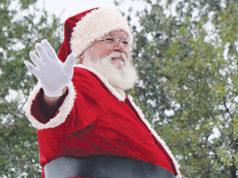 Santa Claus at Apopka Christmas Parade