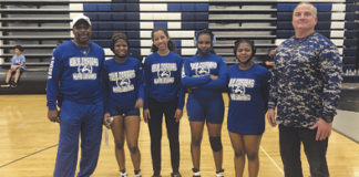 Apopka High School girls wrestling team
