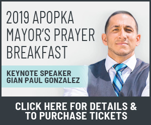 2019 Mayor's Prayer Breakfast Button