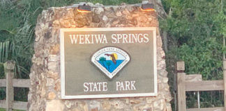 Wekiwa Springs State Park construction