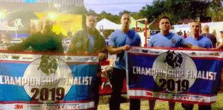 Apopka Fire Department Combat Challenge Relay Team Scott Firefighter Combat Challenge