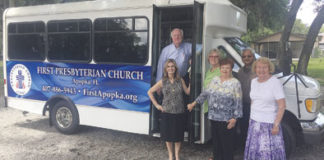 First Presbyterian Church of Apopka transportation service