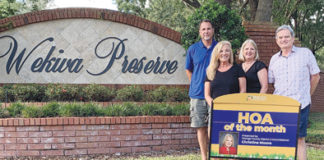 Wekiva Preserve Homeowners Association wins hoa of the month october 2019