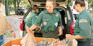 apopka boy scouts donated 4,501 pounds of food to Loaves & Fishes
