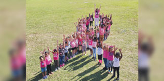Lovell Elementary School Breast Cancer Awareness Month