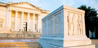 Trinity Christian School Arlington Cemetery field trip donations 2019