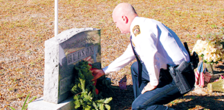 National Wreaths Across America Apopka Police Department Constable D.L. Hudson