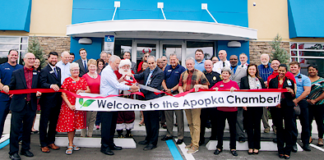 Apopka AdventHealth Centra Care ribbon cutting