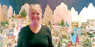 Apopka Elaine Cuzio Christmas Village