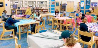 Apopka High School Student Government Project Linus SGA Blanketeers SGA Senators Lena Firlotte Ryan Terry