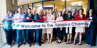 The Apopka Area Chamber of Commerce Orlando Law Group new Lead Member Ribbon Cutting