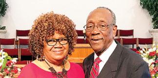Pastor Freddie Filmore Sr. First Lady Minister Carroll Filmore honor