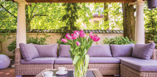 how to do spring patio cleaning