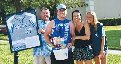 Apopka High School baseball team honors five seniors 2020